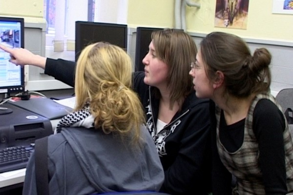Postcode Films at Greenwich Community College, 2007