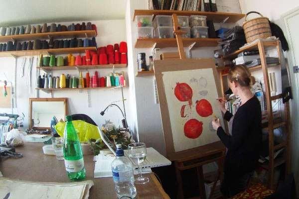 Inside Strike, an artist run space