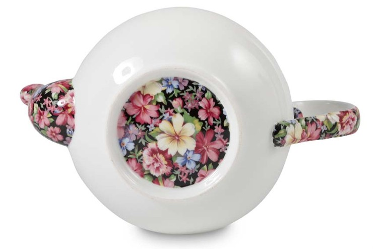 Chintz Teapot (Bottom View)