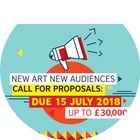 Open Call: new Art new Audiences 2018